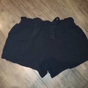 Women's PaperBag waist shorts